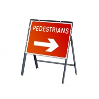 Temporary UK Road Signs 600mm x 450mm Rectangular
