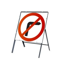 Buy circular UK 750mm x 750mm Temporary UK Road Signs