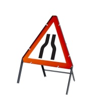 Triangular Temporary UK Road Signs 750mm