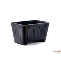 169ltr Mortar Tub - (Black)